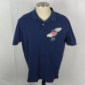 Ralph Xl Lauren Shirt Shield Olympic Polo dthsQr